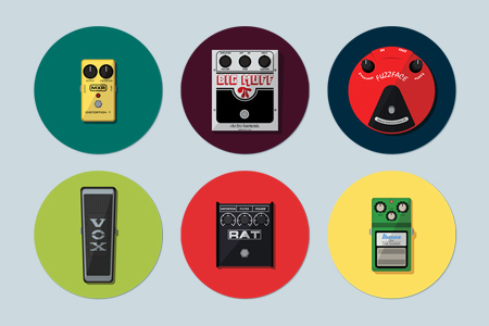 GUITAR PEDAL ICONS